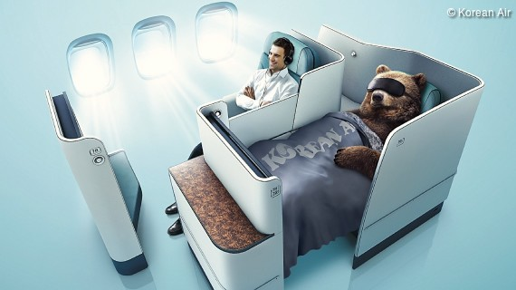 Die Prestige Suite von Korean Air - Business Class auf First Class Niveau